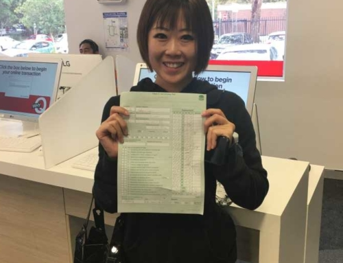 Ms.Wang Passed the Road Test, Congrats!